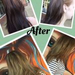 Colour Correction before and after
